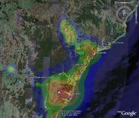 Overlay Light Pollution Map in Google Earth - IceInSpace